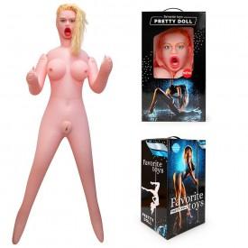 Секс-кукла с вибрацией Валерия