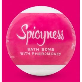Бомбочка для ванны с феромонами Spicy - 100 гр.